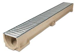 Aco Raindrain with Galvanised Steel Grating - 47000
