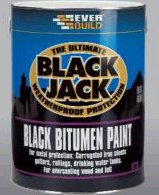 Everbuild Black Bitumen Paint 901 5ltr