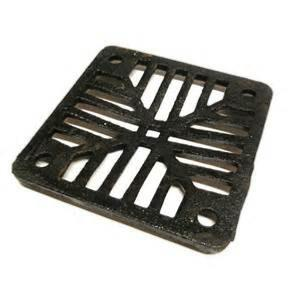 Square Cast Iron Gully Grid 150mm x 150mm