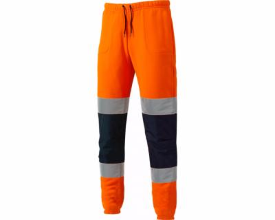 Dickies High Visibility Two Tone Joggers - Orange/Navy