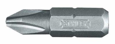 "Stanley 1/4"" Hexdrive Phillips Insert Bit - PH2 50mm (sold per each)"