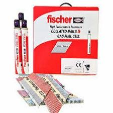 Fischer 1st Fix Nail Packs inc Fuel Cells