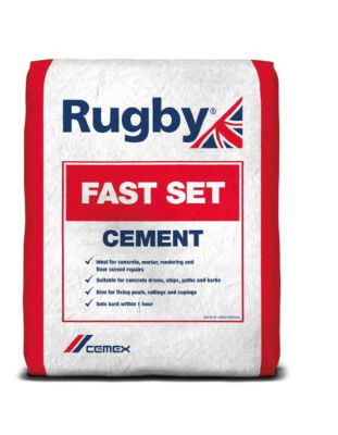 Rugby Fast Set Cement 1 Hour Set 25kg