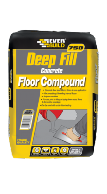 Everbuild 750 Deep Fill Concrete Floor Compound 20kg