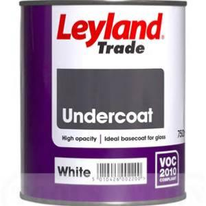 Leyland Trade Undercoat - White