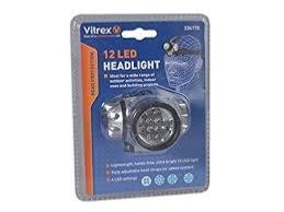 Vitrex 12 LED Headlight