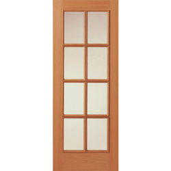 Royale 11-8V Oak Veneered Glazed Door