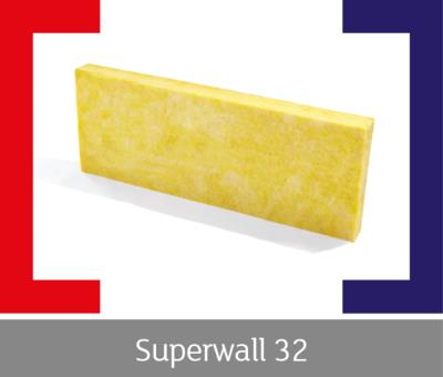75mm Superglass Superwall 32 Cavity Insulation 4.37m2 pack
