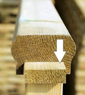 Treated Decking Fillet Emerys