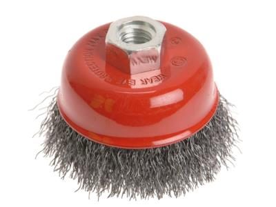 Faithfull Wire Cup Brush 100mm (M14 x 2)