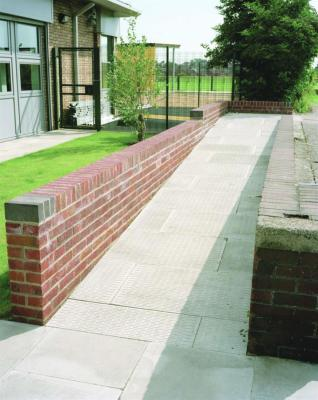 British Standard Paving Grey Heavy Duty Barface Paving