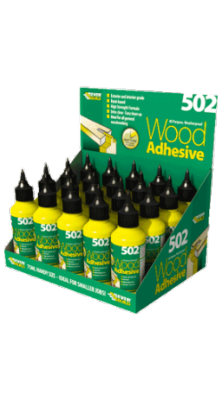 Everbuild 502 Wood Adhesive 1 ltr