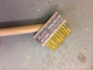 Harris Victory Paving Brush with Scraper