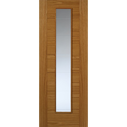Royale VP7 Oak Glazed Door