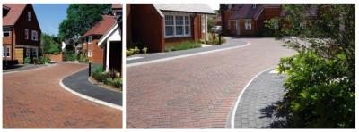 Blockleys Charcoal Chamfered Pavers 65mm