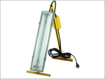 Faithfull Plasterers Folding Light - 2 x 18 watt tubes