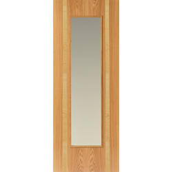 Rhodesia Oak Glazed Door