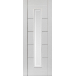 Barbican White Glazed Door