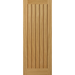 Yoxall Oak Unfinished FD30 Fire Door
