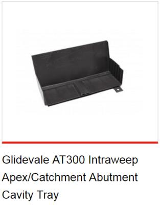 Glidevale AT300 Intraweep Apex/Catchment Abutment Cavity Tray