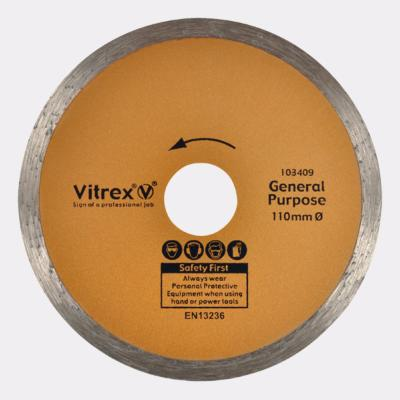 Vitrex General Purpose/Standard Diamond Blade 110mm