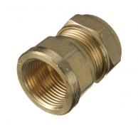 Compression Straight Female Connector 15mm x 1/2""