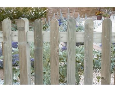 Treated Fencing Pales - Round Top   900x75x22mm