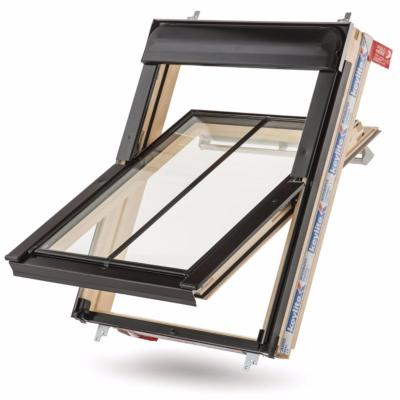 Keylite Conservation Centre Pivot Roof Window with Thermal Glazing - Pine Finish