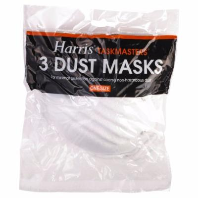 Harris Taskmasters Pack of 3 Dust Masks