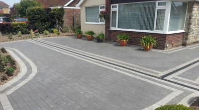 Barleystone Castlepave Smooth Paving Blocks 60mm