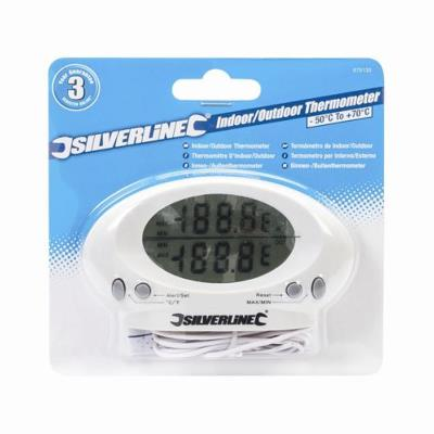 Silverline Indoor/Outdoor Thermometer