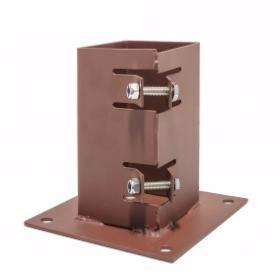 Metpost System 2 Bolt Down Base Plate 75mm x 75mm (1040)