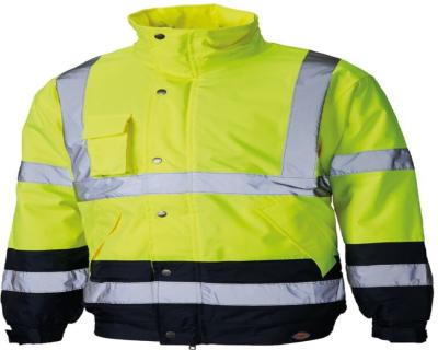 Dickies High Visibility Two Tone Pilot Jacket - Yellow/Navy (SA7005)