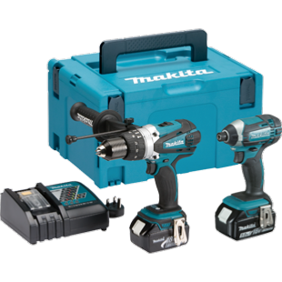 Makita DLX2145TJ 18V LXT 2 Piece Combo Kit