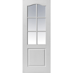 Moulded Panel Classique 6 Light Door