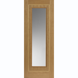 Minerva Oak Glazed Door