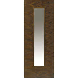 Franquette Walnut Glazed Door
