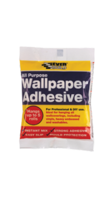 Everbuild All Purpose Wallpaper Adhesive - Hangs up to 10 Rolls