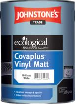 Johnstone's Trade Covaplus Vinyl Matt 5 Litre - Brilliant White