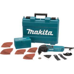 Makita TM3000CX4 Multi Tool + 10 Accessories - 240v