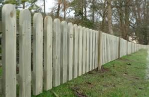 Pallisade fencing - Stoke-on-Trent and Telford