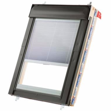 Keylite Top Hung/Fire Escape Roof Window with Thermal Glazing and Integral Blind - White Finish
