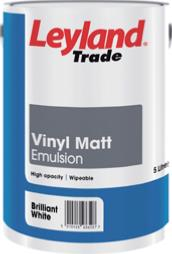 Leyland Trade Vinyl Matt Emulsion 5 Litre