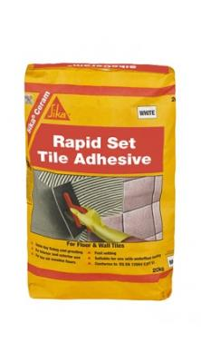 SikaCeram Rapid Set Tile Adhesive 20kg - Grey
