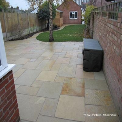tandur yellow limestone paving