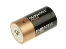 Duracell D Batteries- Pack of 2