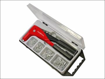 Faithfull Heavy-Duty Riveter Kit