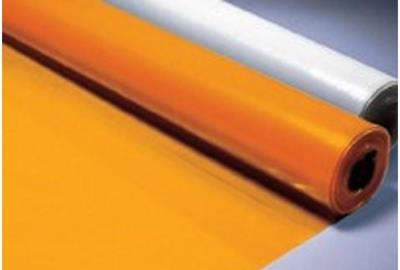 Tuffreel Orange Flame Retardant Sheet 250 mu - 25x4mtr Roll
