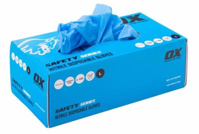 Ox Nitrile Disposable Gloves - Box of 100