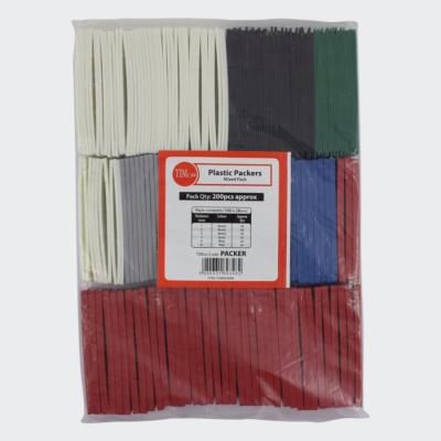 Assorted Flatpackers 1mm - 6mm (bag of 200)